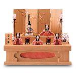 「安土」桐収納五人飾りセット