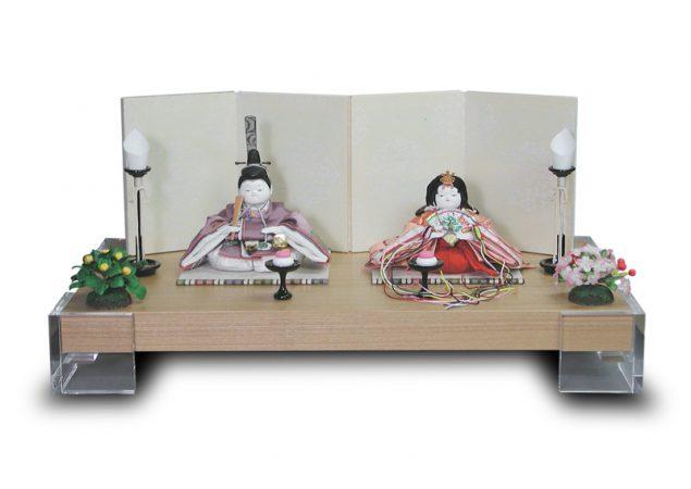 「山桜桃」親王飾り