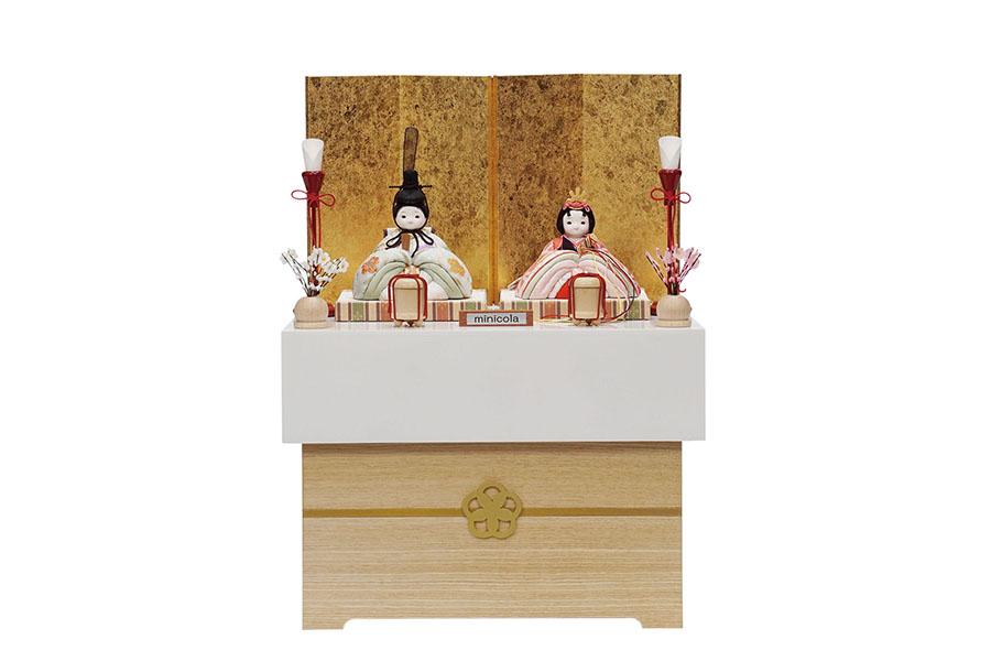 「萌香」親王収納飾りセット