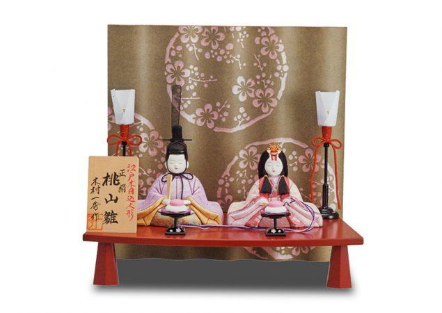 「桃山櫻」親王飾り