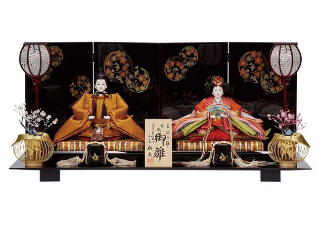 黃櫨染御袍 親王飾りセット