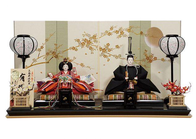 黒の袍 親王飾りセット